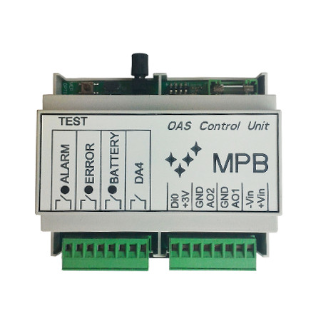 MPB OAS CONTROL UNIT DB MPB measuring instruments
