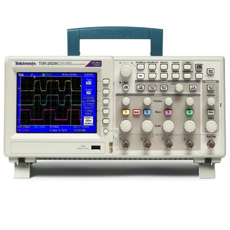 TEKTRONIX TDS-2024 2000 LAT MPB measuring instruments